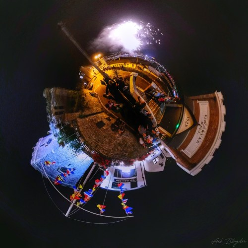 Dartmouth Regatta, Kingswear, UK Tiny Planet