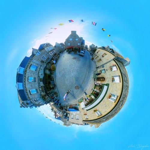 Roscoff, France Tiny Planet