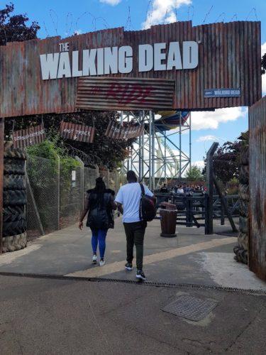 Walking Dead Thorpe Park Chertsey, London