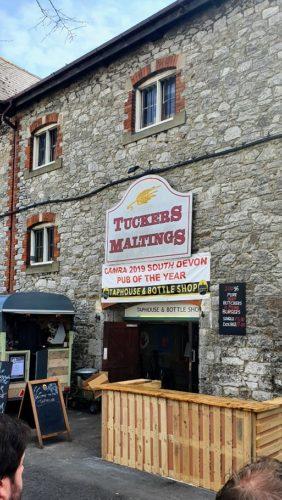 Tap house Tuckers Maltings 2019