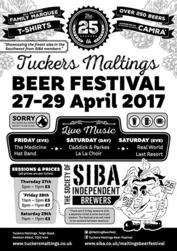 Tuckers Maltings Beer Festival, Newton Abbot