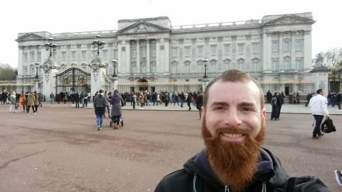 Buckingham Palace London 500x281 - The Bucket List