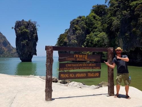 James Bond Island Thailand 500x375 - The Bucket List
