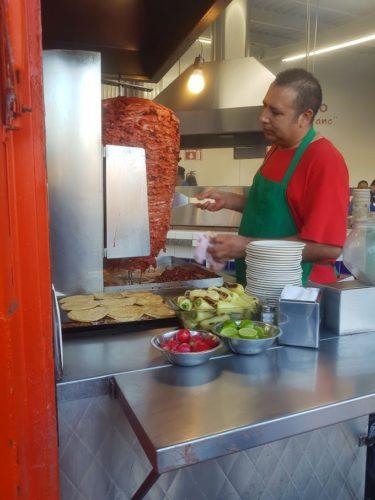 Roadside Taco - Tacos El Franc Tijuana Mexico