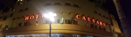Caesars Hotel, Birthplace of the salad Tijuana