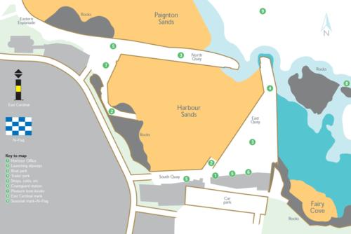 Paignton Harbour Map