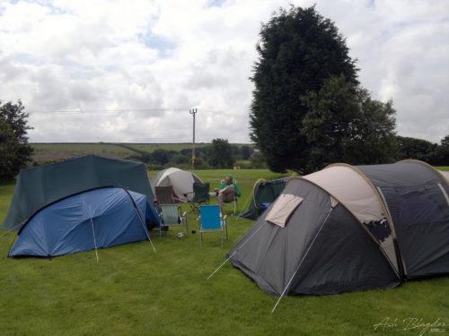 Camping at Trethiggey Holiday Park