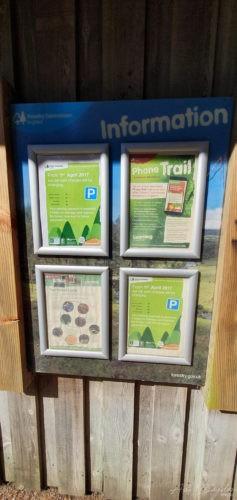 Bellever Forest signposts