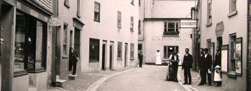 Historical picture from Salcombe