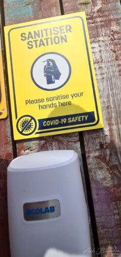 Hand Sanitizer Thorpe Park 2020