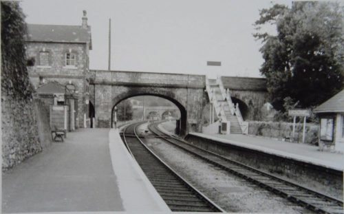 Kingskerswell Station mid1950s, Newton Abbot - History