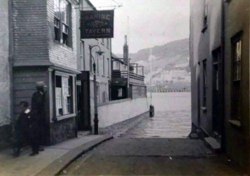 Lower Ferry, Dartmouth, History