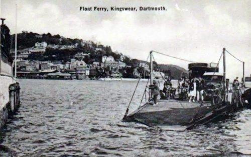 Lower Ferry, Kingswear, History