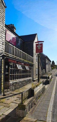 Plume of Feathers Inn, Princetown Dartmoor