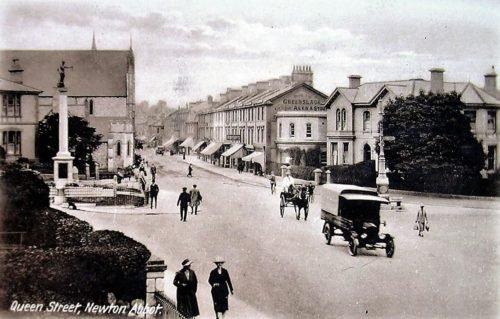 Queen Street c1920s, Newton Abbot - History