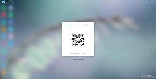 Airmore Web QR Code