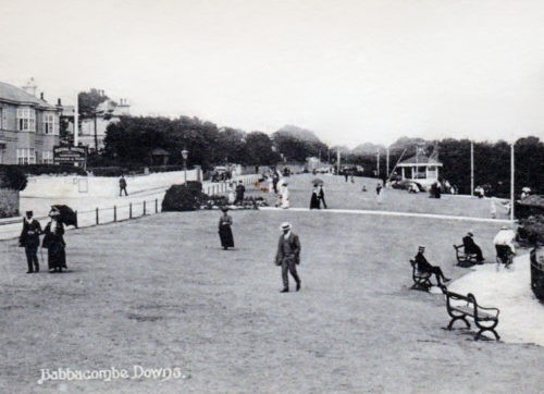 Babbacombe Downs, Torquay - History 1