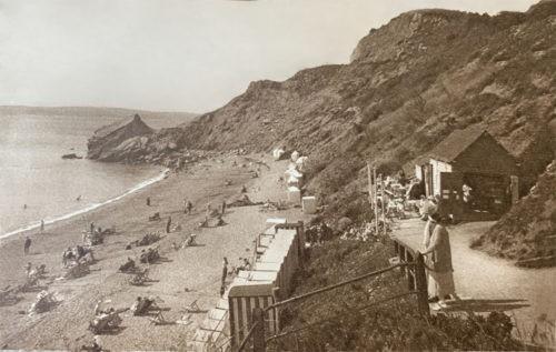 Meadfoot Beach Torquay History 2