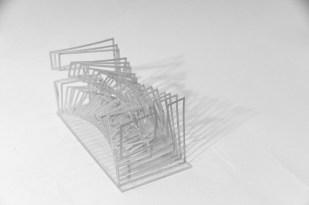 Cameron Wu, architecture, core, design, diagram, Emily Ashby, Emily Ashby architecture, geometry, grasshopper, Harvard, harvard gsd, hidden room, louvre, mathematical surface, minimal surface, parametric, scherks, surface