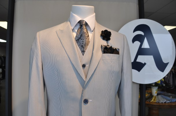 This sharp Sean John suit just got in. We are selling them quickly!