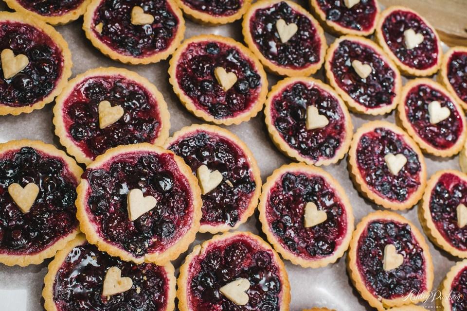 frost my cake bakery, pie tarts for wedding, non cake dessert ideas for weddings