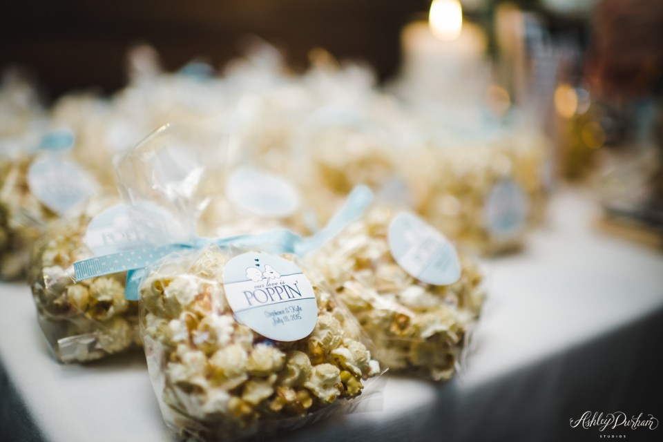 popcorn bar for wedding, diy popcorn bar wedding, green mountain ranch wedding