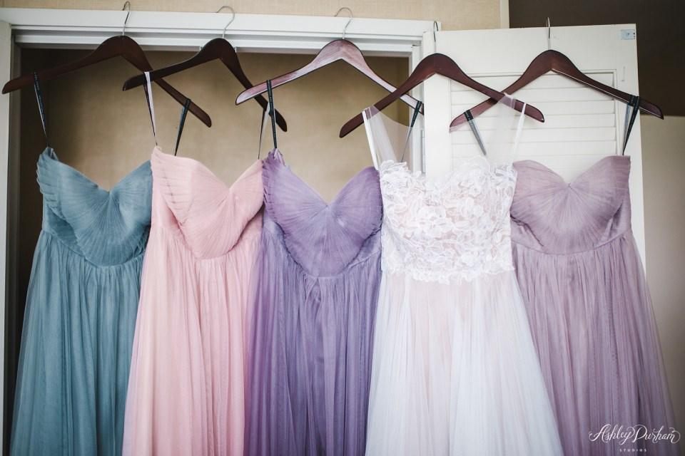 Green Mountain Ranch Wedding, tulle bridesmaid dress, multicolored tulle bridesmaid dresses