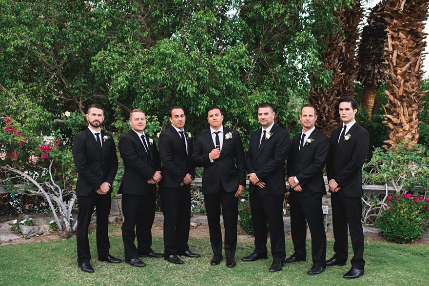 spencers palm springs wedding, randy and ashley weddings, spencers wedding, palm springs florist,