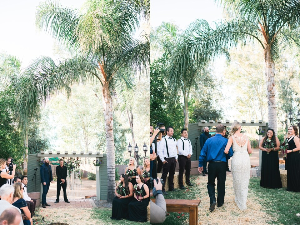 backyard vintage carnival wedding, menifee wedding, backyard wedding