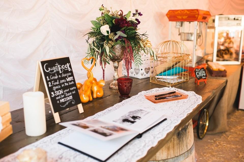 backyard vintage carnival wedding, circus wedding decor, carnival wedding decor, vintage wedding decor, DIY wedding, abby rentals,