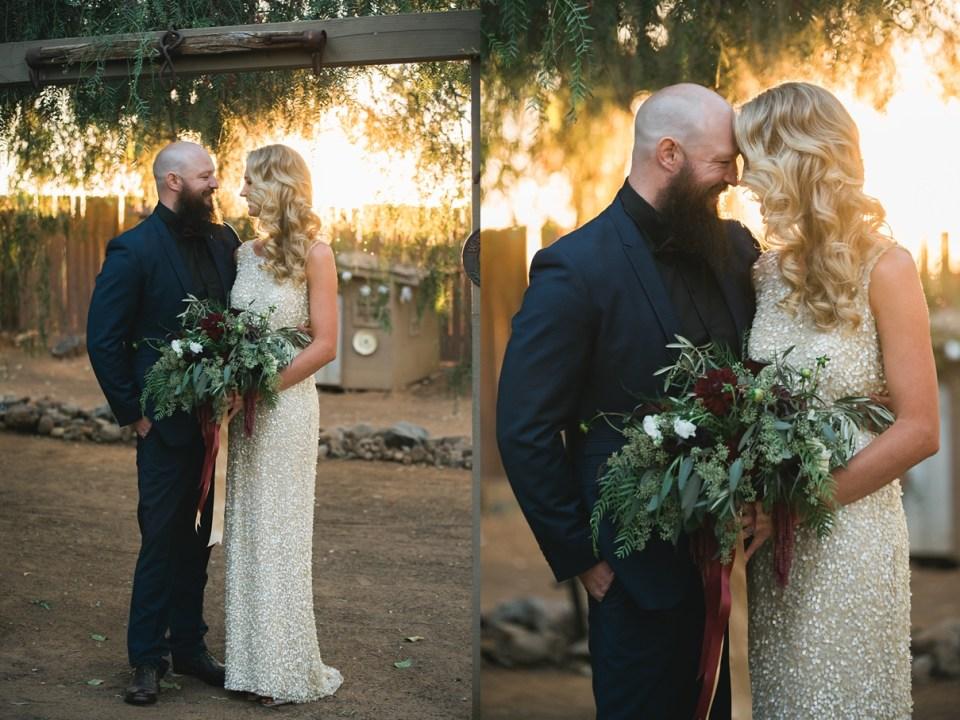 backyard vintage carnival wedding, gold sequin wedding dress, sweet petals florist, menifee wedding
