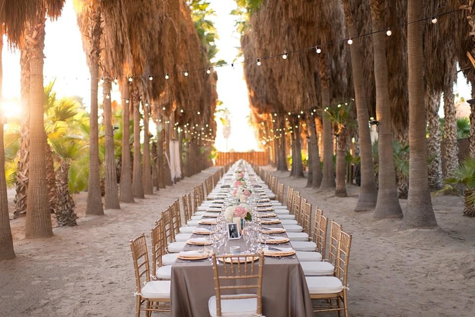 corona yacht club wedding, wedding reception seating option, one long table for wedding reception