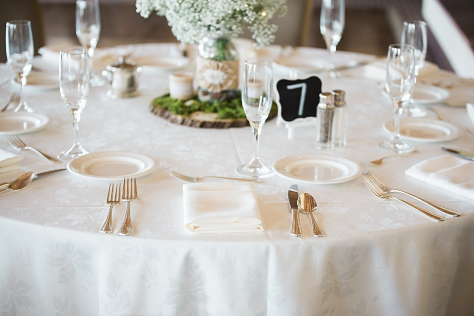 simple tablescapes