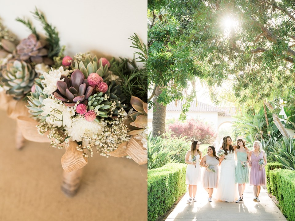 rustic country club wedding southern california