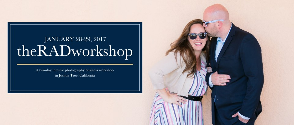 Randy and Ashley, Workshops, theRADworkshop, Joshua Tree Photography Workshops, Business Workshops for Photographers