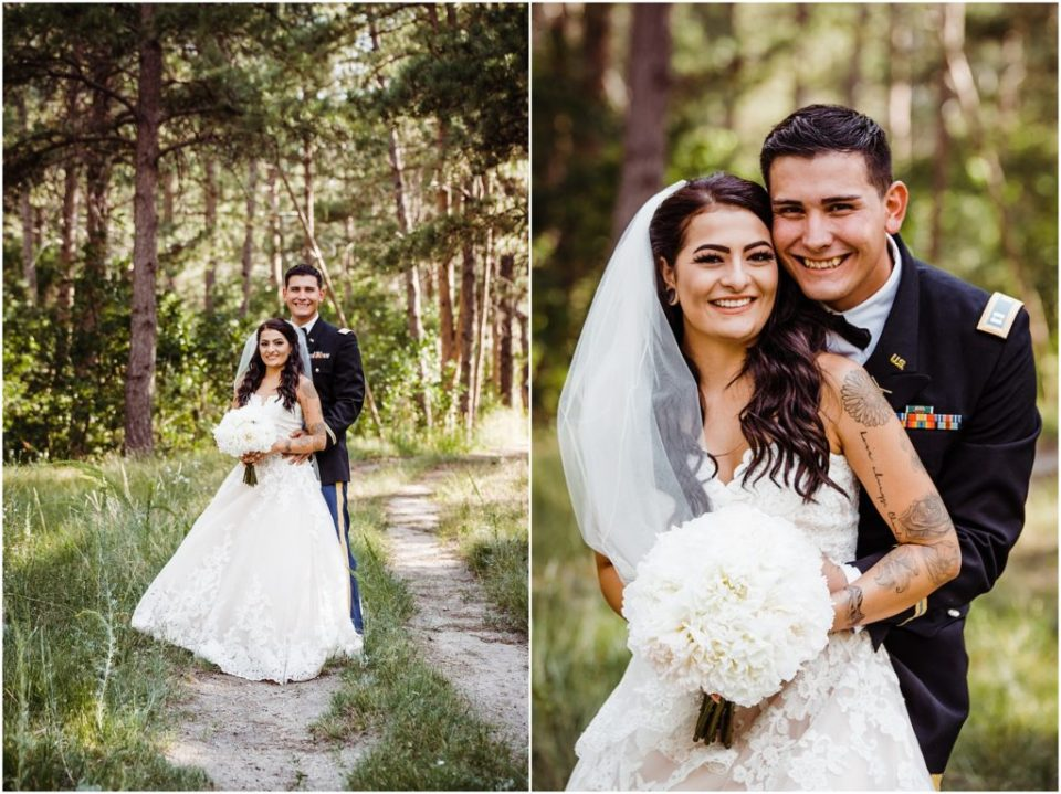 cielo at castle pines wedding portraits