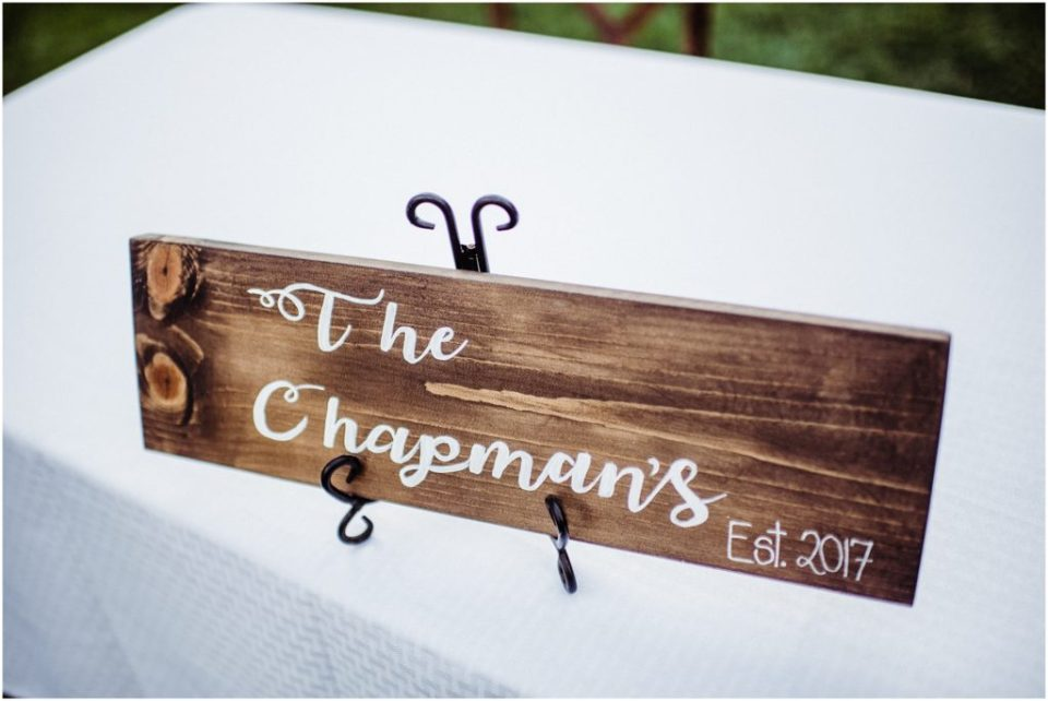 newly married name sign