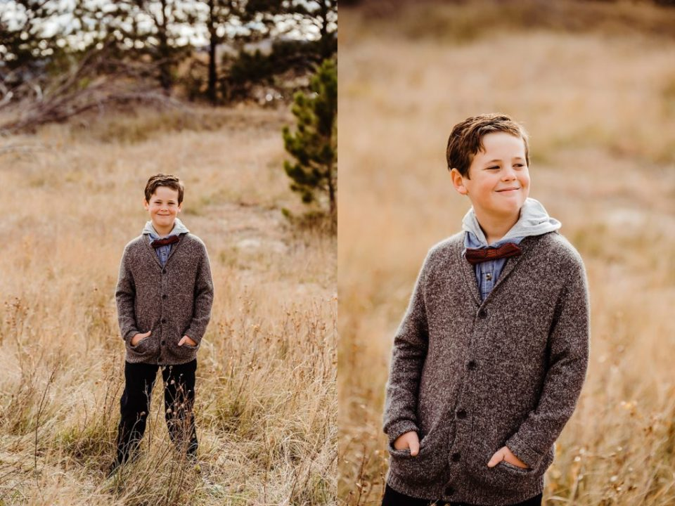 Columbine Open Space family photo session in Castle Rock Colorado