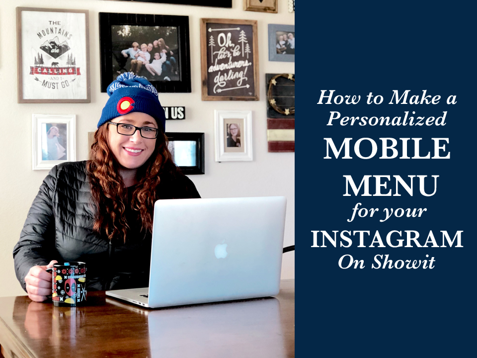 How to Make a Personalized Mobile Menu to Instagram Using Showit