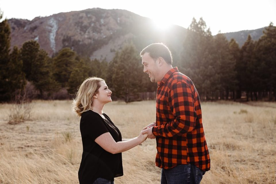 mount herman engagement session in monument, colorado