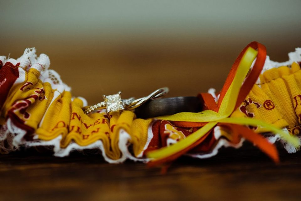 USC garter for wedding