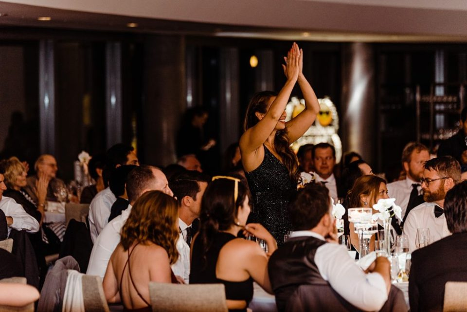 wedding reception speech photos