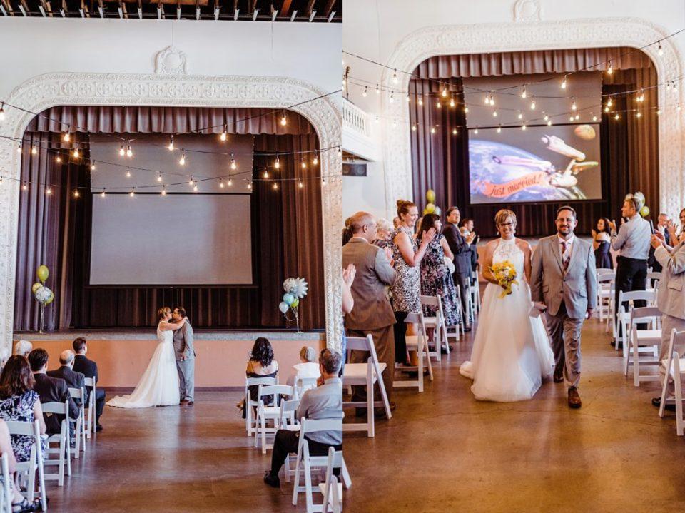 Tivoli Turnhalle wedding in Denver