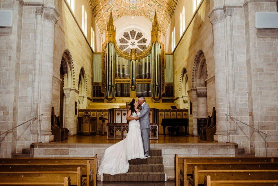 Shove Chapel wedding at Colorado College in Colorado Springs