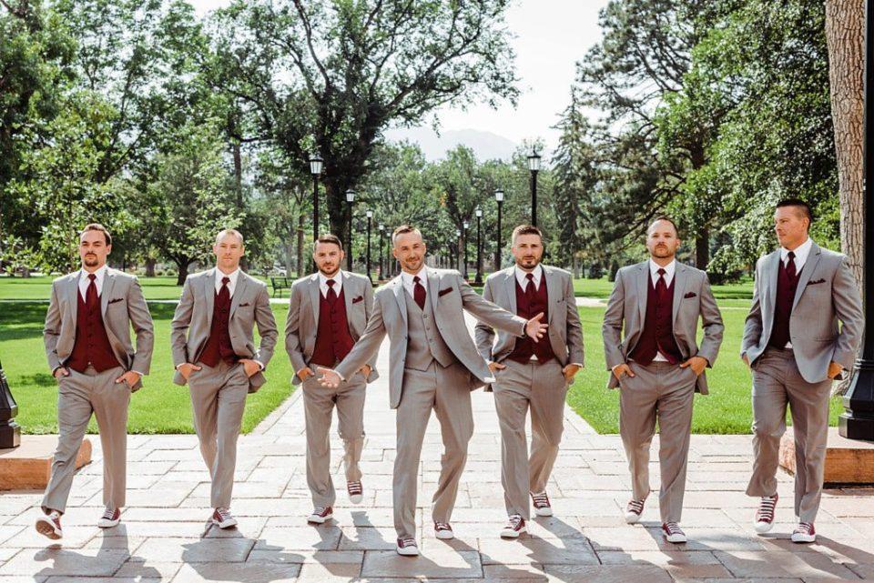 wedding photos at colorado college