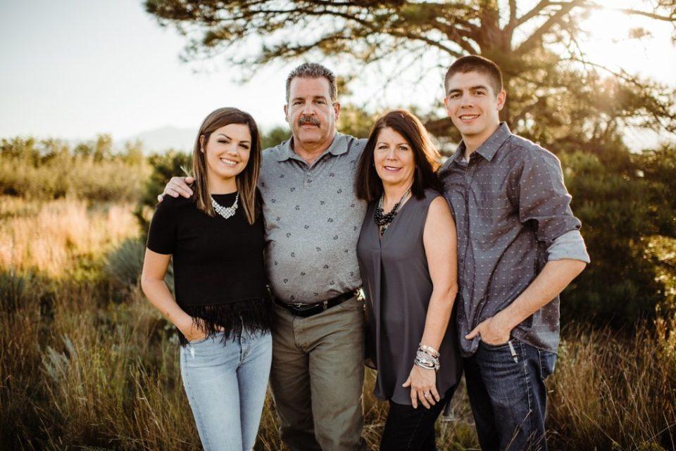 family photos at palmer park in colorado springs