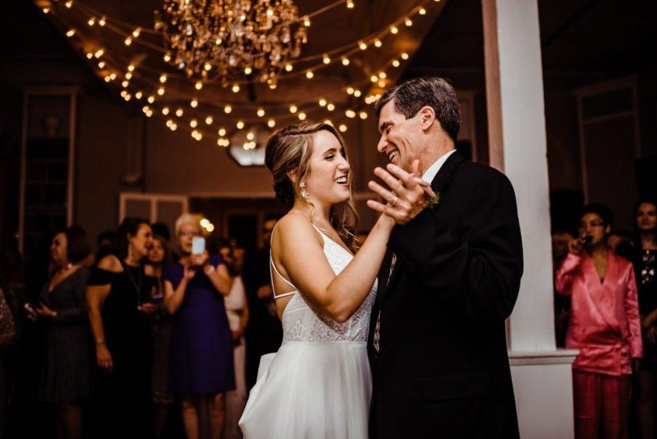 wedding reception at metropolitan building in new york