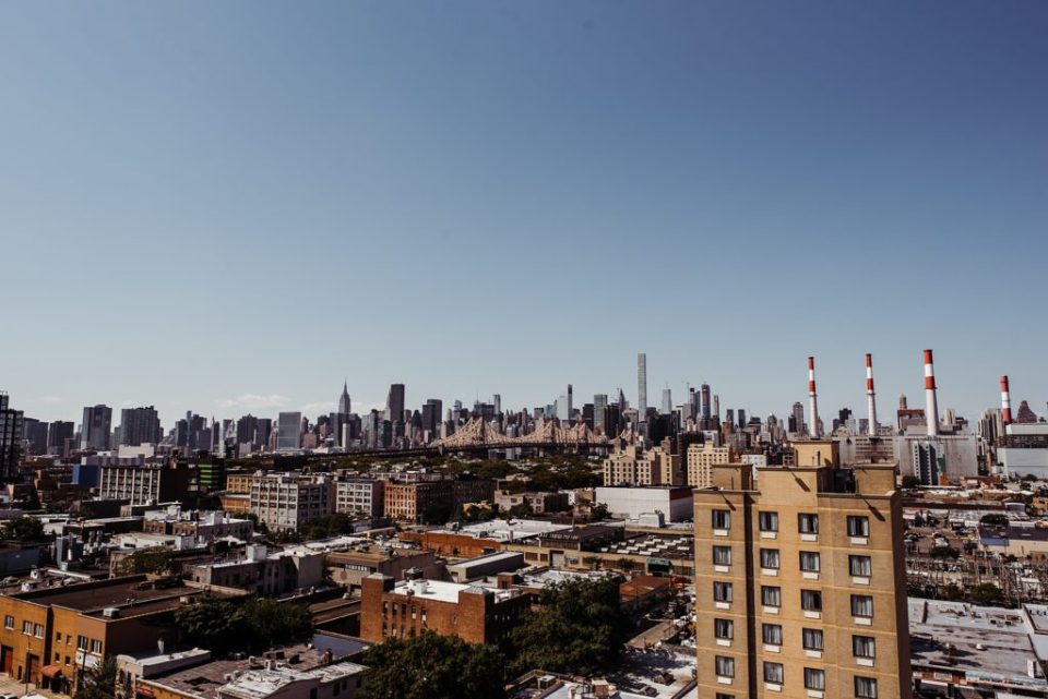 view of new york from queens