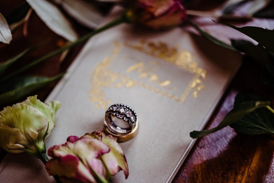 ring on vow book