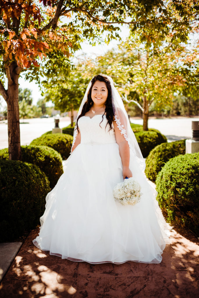 bride at peterson air force base